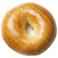 New York Style Bagels, Plain, 3 Each
