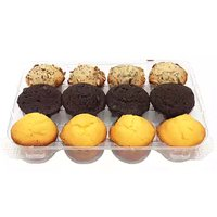 Mini Muffins, Assorted, 10.5 Ounce