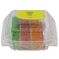 Rainbow Delight Cake, Slice, 6 Ounce