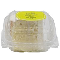 Chef Made Double Layer Cake, Haupia, Slice, 3 Ounce