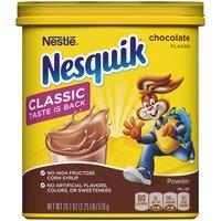 Nesquik Powder Mix, Chocolate, 20.1 Ounce