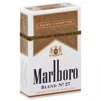 Marlboro Filter Blend No. 27 Cigarettes, Box, 1 Each
