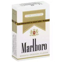 Marlboro Gold Filter Cigarettes, Box, 1 Each