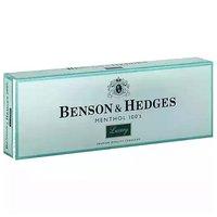 Benson & Hedges Luxury Menthol 100's Cigarettes, Box, 1 Each