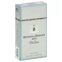 Benson & Hedges De Luxe Menthol Cigarettes, 100's, Box, 1 Each