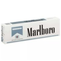 Marlboro Silver Pack Cigarettes, King, Box, 1 Each
