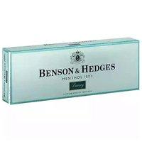 Benson & Hedges Luxury Menthol Cigarettes, 100's, Box, 1 Each