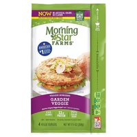 Morning Star Farms Garden Veggie Burgers, 9.5 Ounce