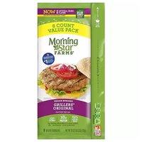 Morningstar Farms Veggie Burger Grillers, 18 Ounce