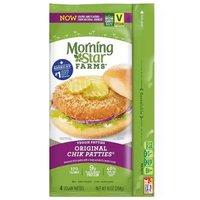 Morning Star Chicken Patties, Original, 10 Ounce