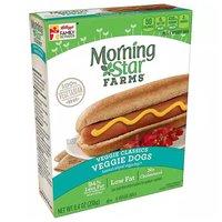 Morning Star Veggie Dogs, 8.4 Ounce