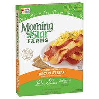 Morningstar Farms Veggie Breakfast Bacon Strips, 5.25 Ounce
