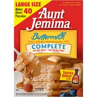 Aunt Jemima Complete Buttermilk Pancake & Waffle Mix, 32 Ounce