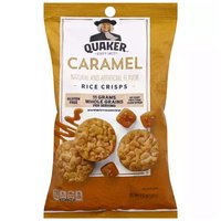 Quaker Popped Caramel Corn Rice Crisps, 3.52 Ounce