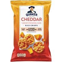 Quaker Rice Crisps, Cheddar, 3.03 Ounce