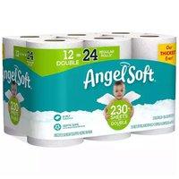 Angel Soft Bath Tissue, Double Rolls, 12 Each