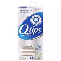 Q-Tips Cotton Swabs, 170 Each
