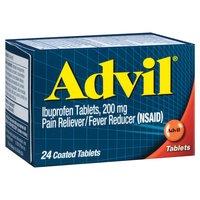 Advil Non-Aspirin Tablets, 200mg, 24 Each