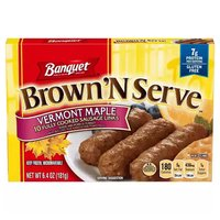 Banquet Brown 'N Serve Maple Sausage Links, 6.4 Ounce