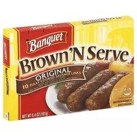 Banquet Brown 'N Serve Sausage Links, 6.4 Ounce