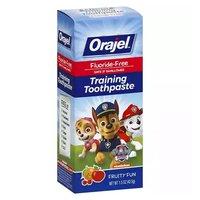 Orajel Training Toothpaste, Nickelodeon Paw Patrol, 1.5 Ounce