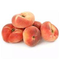 Flat White Flesh Peaches, 0.3 Pound