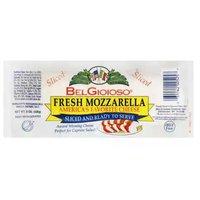 Bel Gioioso Fresh Mozzarella Sliced Cheese, 8 Ounce