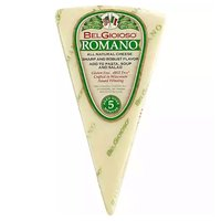 Bel Gioioso Romano Wedge with Wrap, 5 Ounce