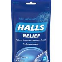 Halls Menthol Drops, Cough Suppressant, Mentho-Lyptus, 30 Each