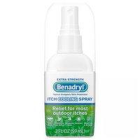 Benadryl Itch Cooling Spray, Extra Strength, 2 Ounce