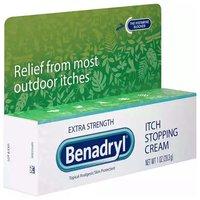 Benadryl Extra Strength Itch Relief Cream, 1 Ounce