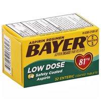 Bayer Aspirin Regimen Tablets, 32 Each