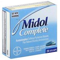 Midol Complete Gelcaps, 24 Each