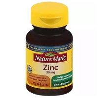 Nature Made Dietary Supplement, Zinc, 100 Each