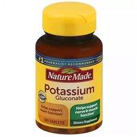 Nature Made Dietary Supplement, Potassium Gluconate, 100 Each