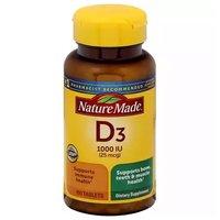 NM Dietary Supplement, Vitamin D3, 100 Each