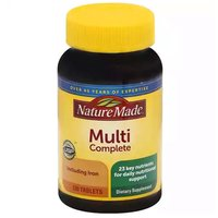 Nature Made Dietary Supplement, Multi Complete With Iron, 130 Each