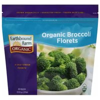 Earthbound Farm Organic Broccoli Florets, 9 Ounce