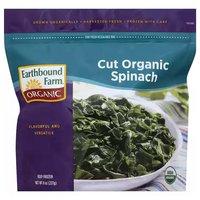 Earthbound Farm Organic Cut Spinach, 8 Ounce