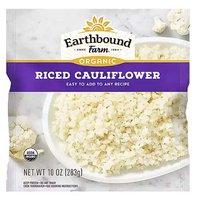 Earthbound Farm Organic Riced Cauliflower, 10 Ounce