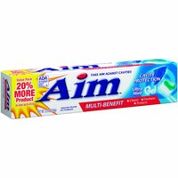 Aim Cavity Protection Toothpaste, 5.5 Ounce