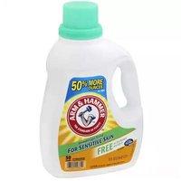 Arm & Hammer Detergent, Sensitive Skin, 75 Ounce