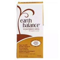 Earth Balance Buttery Sticks, Vegan, 16 Ounce