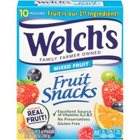 Welch's Mixed Fruit Snacks, 9 Ounce