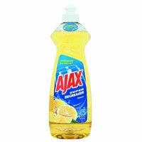 Ajax Ultra Liquid Dish Soap, Lemon, 14 Ounce