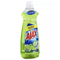 Ajax Ultra Liquid Dish Soap, Vinegar & Lime, 14 Ounce