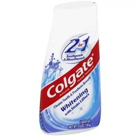 Colgate 2 In 1 Toothpaste & Mouthwash Whitening, 4.6 Ounce