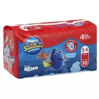 Huggies Little Swimmers Disposable Swimpants, Size L (Over 32 lbs.) Disney, 10 Each