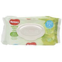 Huggies Natural Care Wipes, Sensitive, Unscented, 56 Each