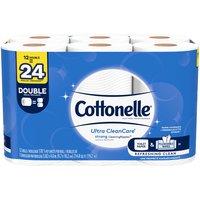 Cottonelle Ultra Clean Toilet Paper, 12 Each